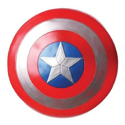 Avengers Endgame Captain America Assemble Shield Cosplay Toy Red Gift 32cm