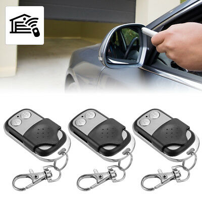 3pcs Universal Remote Control Learn Code Key Fob for Garage Door 433mhz AH379