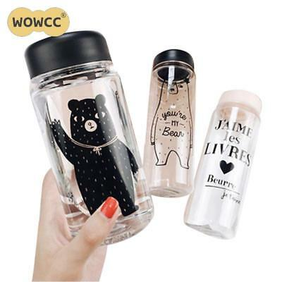 350 ML/500ML Creative Fashion Portable Leakproof Cycling Water Bottle Impregnabl
