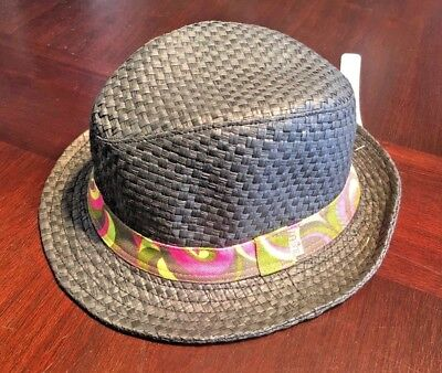4470fa34 WOMEN'S DAKINE SUMMER Straw Fedora Hat Grey One Size - $17.00 | PicClick