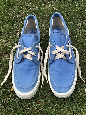Vintage Made In USA Sperry Top-Sider Womens 9.5 Blue 50's 80's Blue Converse