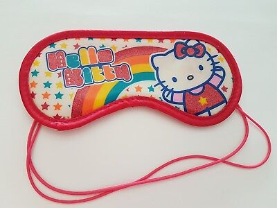 MASQUE NUIT SOMMEIL VOYAGE REPOS CACHE YEUX ANTI LUMIÈRE hello kitty claire's