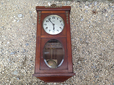Antique beautiful chime STAR westminster 8 rods 8 hammers old french clock