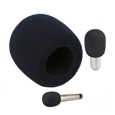 Pop Filter Windscreen Microphone Sponge Foam Cover For Blue Yeti Pro Mic Black