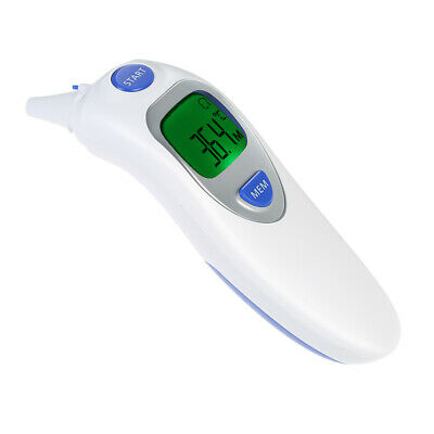 Digital LCD IR Infrared Dual Mode Forehead / Ear Thermometer Baby Adult D6I7