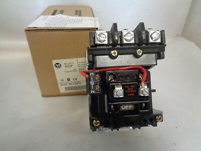 New Allen-Bradley 500F-Bod930 Ac Contactor 110/120V Coil
