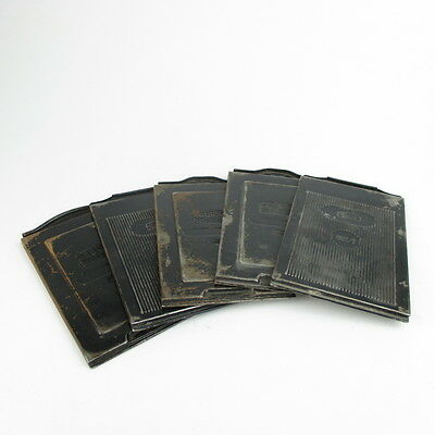 5x Zeiss Ikon Planfilmkassette 665/3 sheet film holder