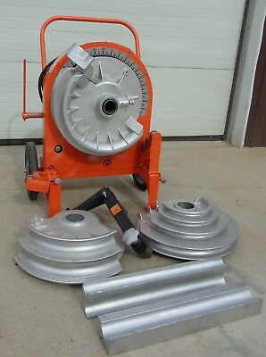 Used Ensley 666 Electric Conduit Bender Good Working Condition