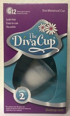 (New) Diva International The Diva Cup Model 2 Menstrual Cup