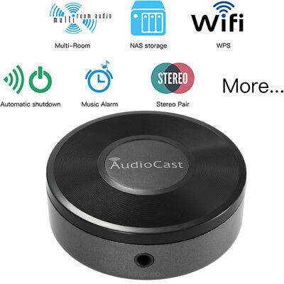 WiFi Wireless Music Audio Receiver Adapter AirPlay DLNA AirMusic Audio Cast K6G3