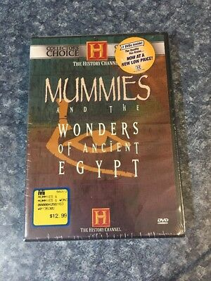 Mummies and the Wonders of Ancient Egypt (DVD, 2001, 2-Disc Set)NIB