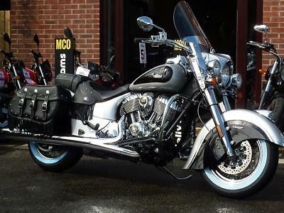 Indian Chief Vintage 2-Tone Star Silver/thunder Black 2018 Model