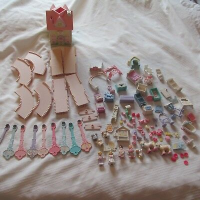 VINTAGE FISHER PRICE PRECIOUS PLACE TOY DOLL HOUSE Accessories Keys FOR PARTS