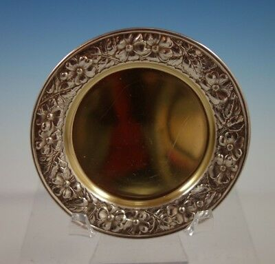 "Cluny by Gorham Sterling Silver Butter Pat Gold Washed #2395 1/8"" x 3"" (#2306)"