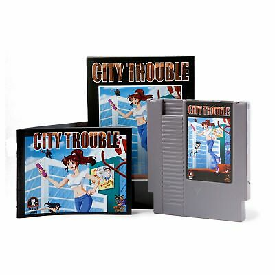 City Trouble - Game for the Nintendo NES Console - Mega Cat Studios