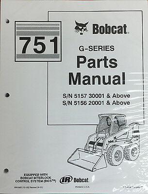 bobcat 751 g series skid steer parts catalog manual part number rh picclick com Thomas Skid Steer Models Thomas Skid Steer Models