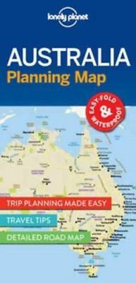 Lonely Planet AUSTRALIA Planning Map by Lonely Planet (Sheet map, 2017)