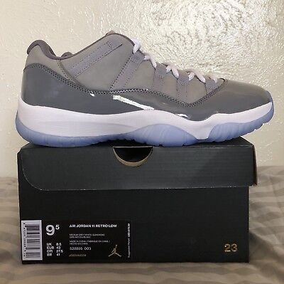 3eb851bc2d8c NEW DS 2018 Nike Air Jordan XI Retro 11 Low Cool Grey 528895-003 ...