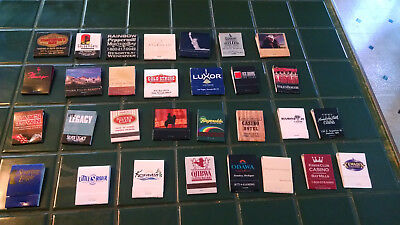 Lot (30) Match Books – Nevada, Michigan, other Casino Matchbook Cover - See list