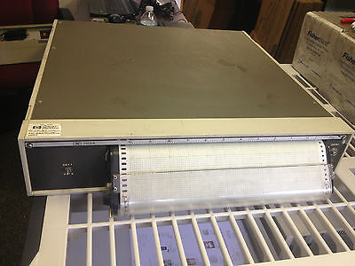 HP Hewlett Packard 7123A Portable Chart Recorder