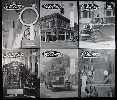 6 Issues The Restorer the Magazine for Model A Ford Enthusiasts Complete 2006