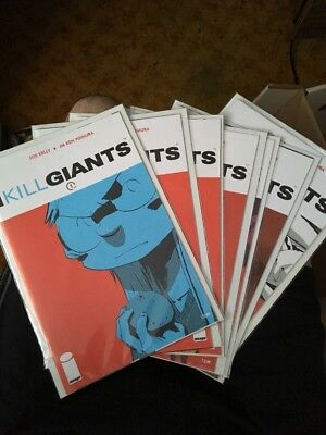 I Kill Giants Complete Mini-Series #1-7 Full Set Image Comics Joe Kelly Movie NM