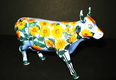 "2001 COW PARADE #9186 ""Moo-Nays Garden"" RETIRED"