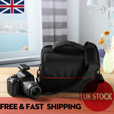 DSLR Digital Camera Bag Carry Waterproof Case Shoulder Strap For Nikon, Canon