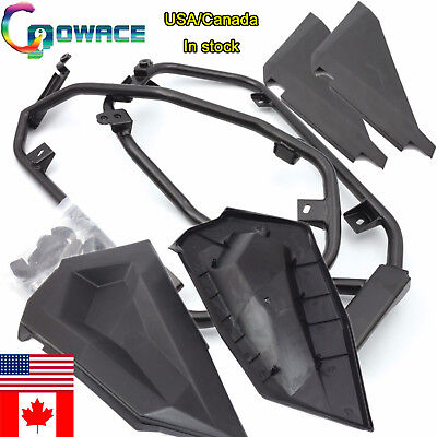Set of 2 Lower Half Door Inserts Panels For Polaris RZR XP 1000 RZR S 900 Turbo
