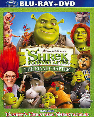 BLURAY MOVIE Shrek Forever After The Final Chapter - No DVD Dreamworks