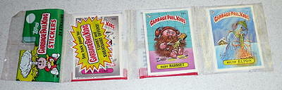 "TOPPS 1986 GARBAGE PAIL KIDS GPK ""Rack Pack"" 24 Sticker Set Mint In Package!"