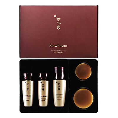 Sulwhasoo Timetreasure KIt (5 items) Water,Emulsion,Serum,Eye Cream
