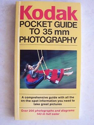1983 Kodak Pocket Guide To 35mm Photography 112 Pages RARE Pictures ANZ Film