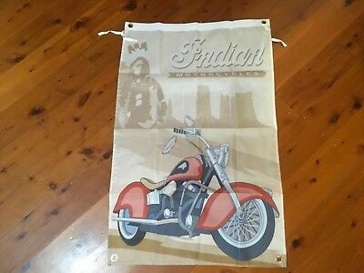 Indian motor cycles USA  - Man Cave Work Shop Garage Shed Bar banner poster Flag