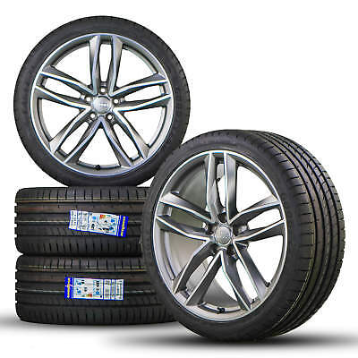 Audi A6 S6 4G 20 inch alloy wheels rim tires for summer Rotor S line 4G0601025N