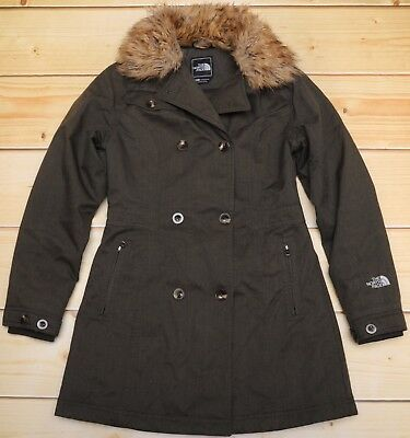 THE NORTH FACE BOULEVARD - PRIMALOFT down insulated WOMEN'S TRENCH JACKET - S