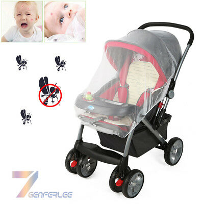 Baby Mosquito Cot Cat Net Pushchair Moses Basket Pram Carseat Stroller Buggy UK