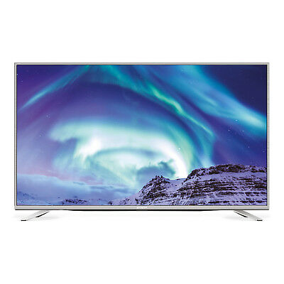 Sharp Aquos LC-55CUF8472ES UHD LED LCD Smart TV, silber
