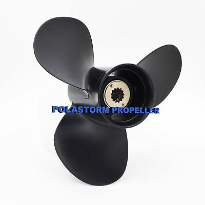 "Boat Aluminum Outboard Propeller 10 3/8x13"" for Mercury 25-70HP 48-73136A40"
