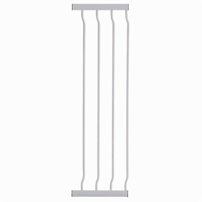 Dreambaby Liberty Extra Tall Gate Extension 27Cm - White - Warehouse Clearance