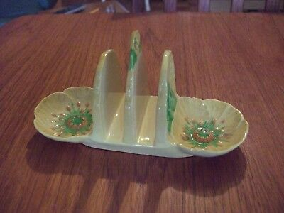Carlton Ware Toast Rack Yellow Buttercup