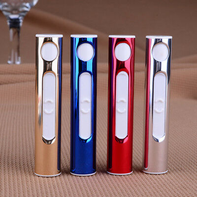 Creative USB charging lighter portable mini electronic cigarette lighter AU
