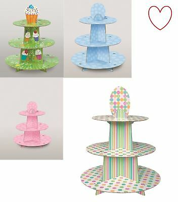 3 Tier Cup Cake Tree Stand Dessert Baby Shower Display Decoration