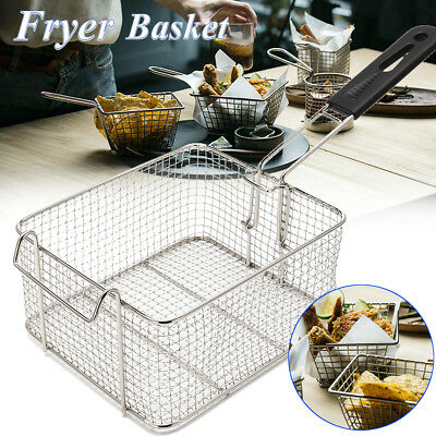 Universal Small Commercial Chip Fish Fat Frying Deep Fryer Basket 210*180*110mm