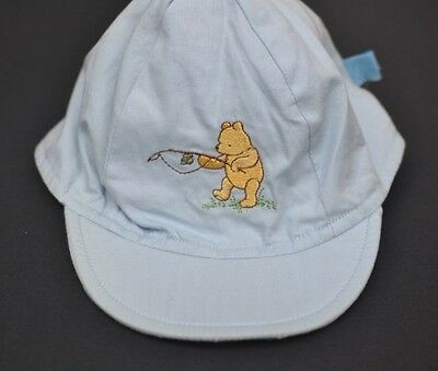 winnie the pooh baby boys hat cap BNWT beanie 0-12 mth (One size fits All)