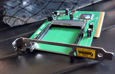 New PCI to PCMCIA Adaptor Internal PCI Card a