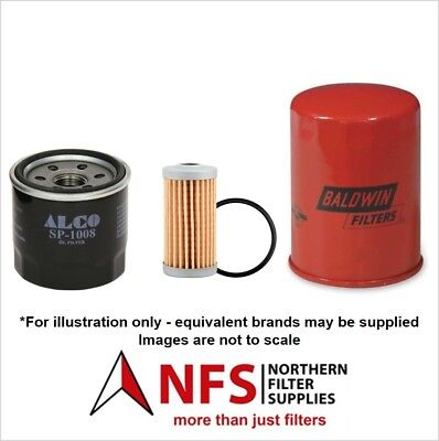 SN ? ISEKI TF 321 F//FH Filter Service Kit Air Oil Fuel Filters w//ISEKI E 3112 Eng