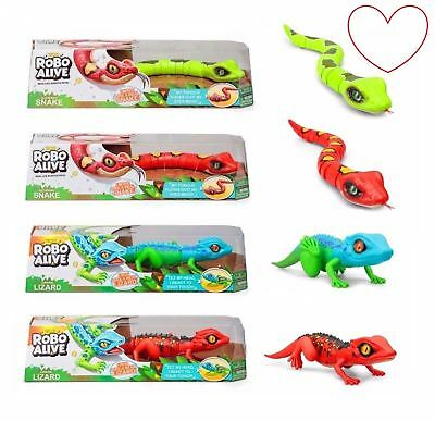 Genuine Zuru Robo Alive Snake Lizard Gift Kids Robotic Creepy Crawlies