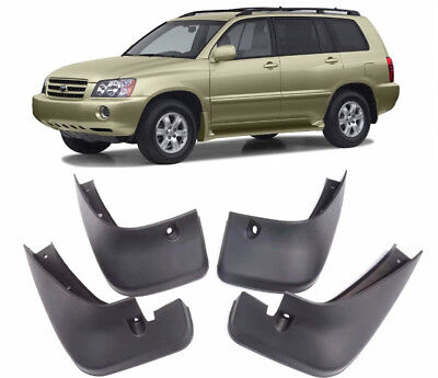 New OEM Set Splash Guards Mud Flaps 76626-48020 FOR 2001-2007 Toyota Highlander