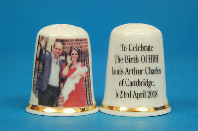To Celebrate The Birth of HRH Louis of Cambridge 23rd April 2018 Thimble B/136